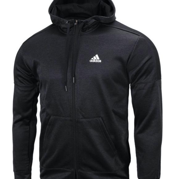 adidas Other - Men's adidas Team Issue Fleece Full Zip Hoodie